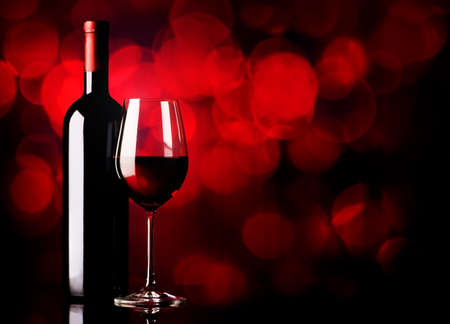 Fortified red wine on a vinous background