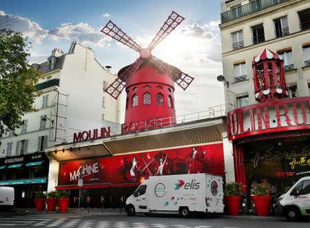 notorious: Moulin Rouge in Paris