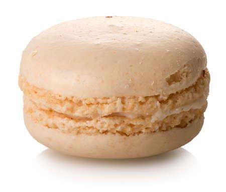 noix: Coconut macaron isolated Stock Photo
