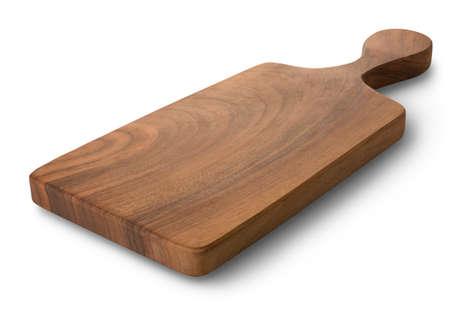 oaken: Wooden cutting board Stock Photo