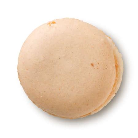 noix: Macaron on a white Stock Photo