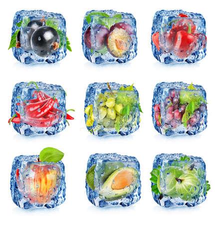 果実と野菜 写真素材