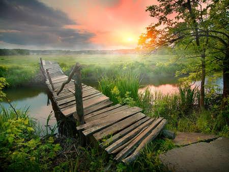 古い木の橋 写真素材 - 79023891