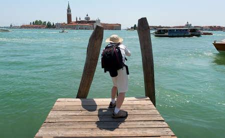 Tourist in Venice