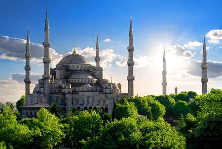 Famous Blue Mosque Banco de Imagens