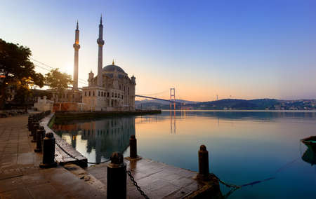 Historical Ortakoy Mosque Reklamní fotografie