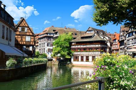 Summer in Strasbourg Stock Photo