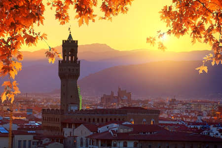 Florence in autumn