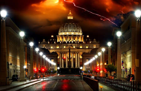 Storm over the Vatican