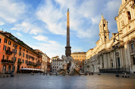 Piazza Navona in Italy