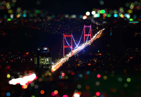 Fatih Sultan Bridge Фото со стока