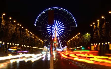 Ferris wheel at Champs Elysee