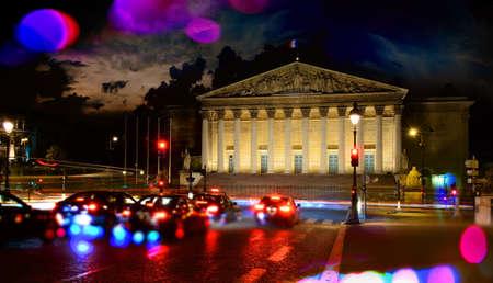 Palais Bourbon in Paris Stock Photo