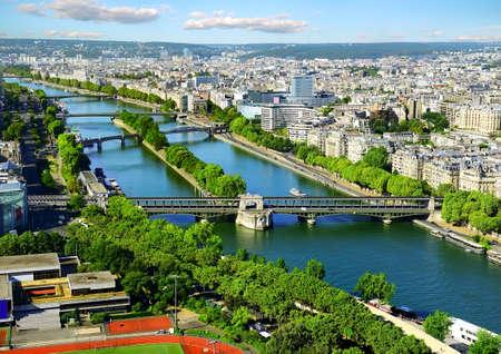 パリの空中パノラマビュー