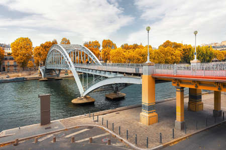 Arch footbridge Passerelle