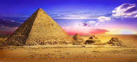 Endroit désert à Gizeh