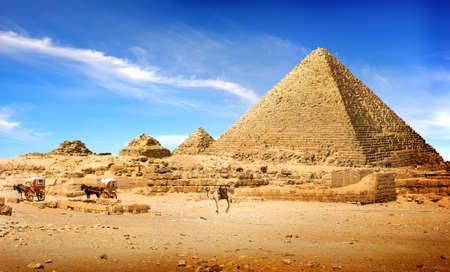 pyramides dans l & # 39