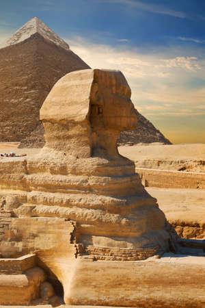 Oude Sfinx Egypte