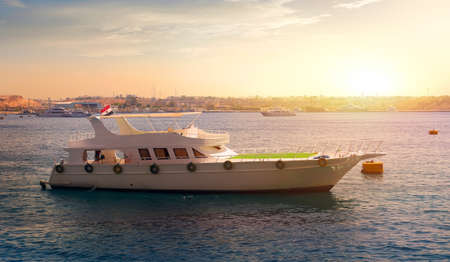 Pleasure boat in Egypt Banco de Imagens