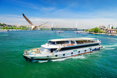 Touristic boats in Turkey