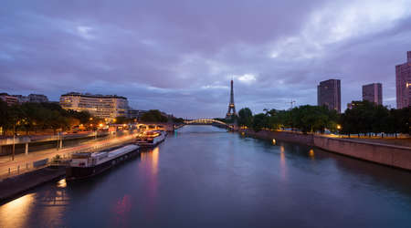 View from bridge Grenelle