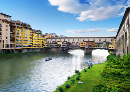 Ponte Vecchio in Florence 스톡 콘텐츠