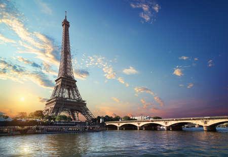 Bridge Iena in Paris