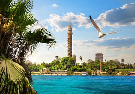 Nil in Kairo