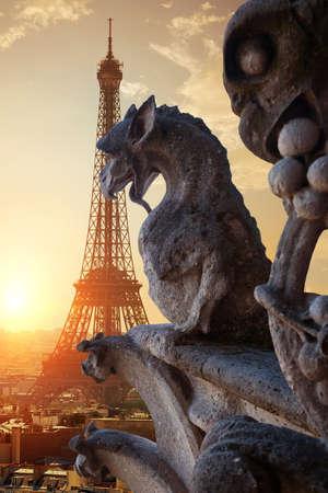 Chimères à Paris