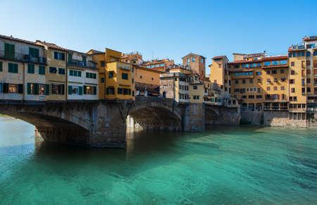 Ponte Vecchio in Florence Imagens