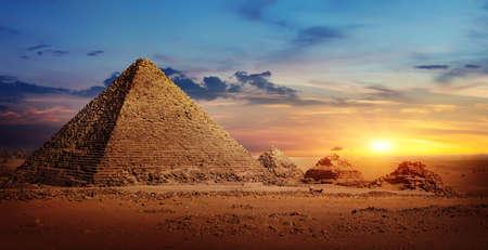 Désert en Egypte