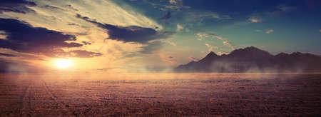 Mountains at surise Egypt