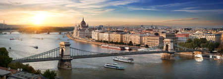 Budapest panoramic view Stockfoto