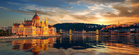Beautiful view of Budapest
