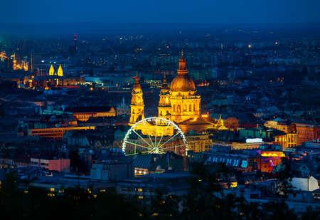 Ferris wheel in Budapest