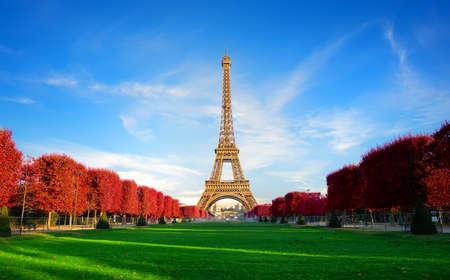 Autumn on Fields of France Stock Photo
