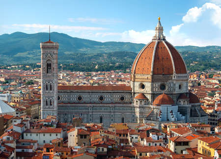 View on Florence cathedral