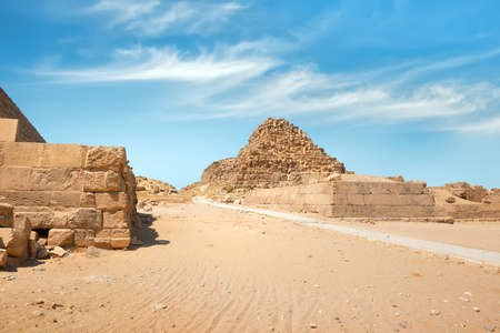 Ruins near Giza