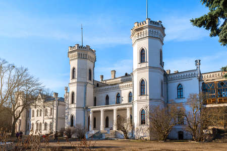 Sharovsky Palace in day Stock Photo