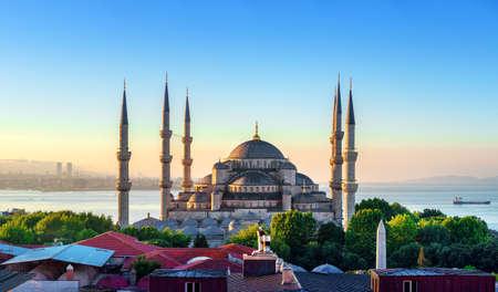 Vue de la Mosquée Bleue