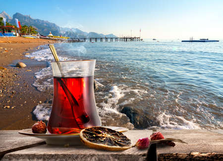 Morning turkish tea