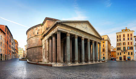 Pantheon at sunrise 写真素材