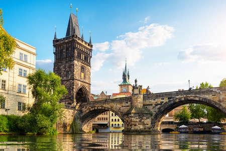 Charles Bridge in Prague 写真素材
