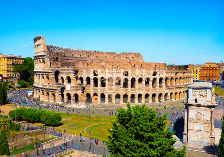 Coliseum in Rome 版權商用圖片