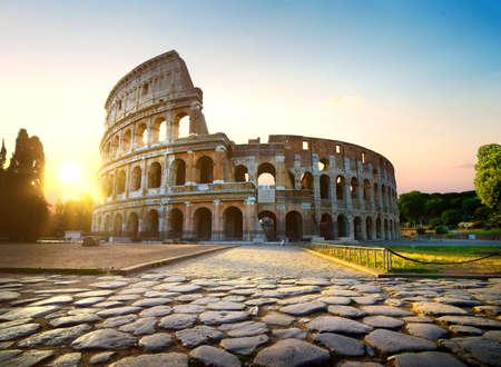 Colisée à Rome Banque d'images