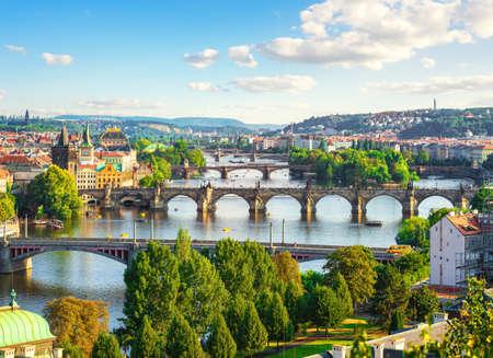 Bridges in Prague 写真素材 - 124005521
