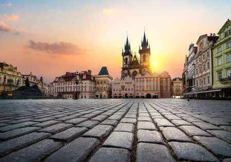 Tynsky-Tempel in Prag Standard-Bild