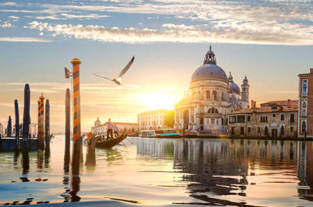 Gand Canal in Venice Stock Photo