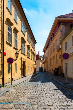 Old narrow street 写真素材