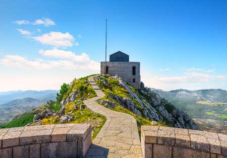 Mausoleum of Petar Petrovic Njegos 写真素材 - 128850007